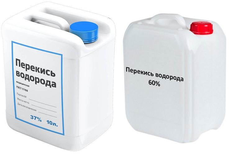 Варианты пергидроля для очистки бассейна
