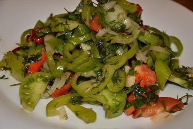 Грузинский вариант рецепта салата